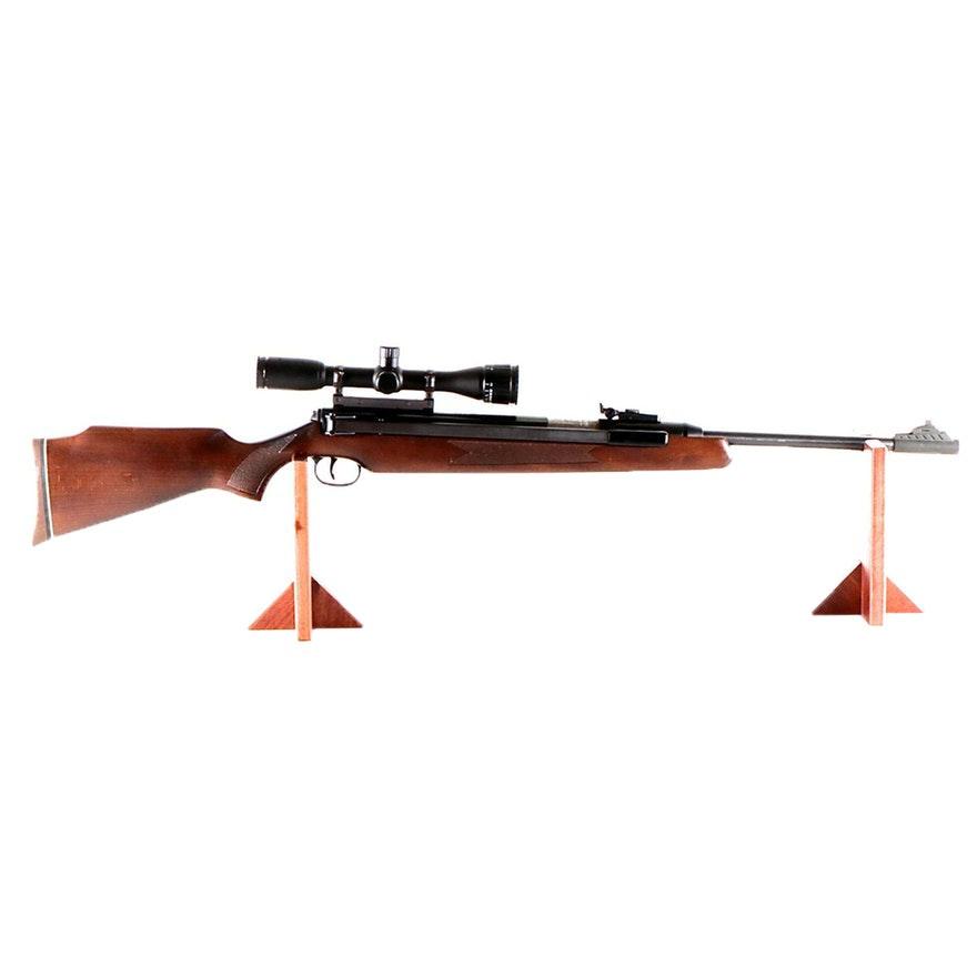 RWS Model 48/52  .22 Caliber Air Rifle with Rifle Scope