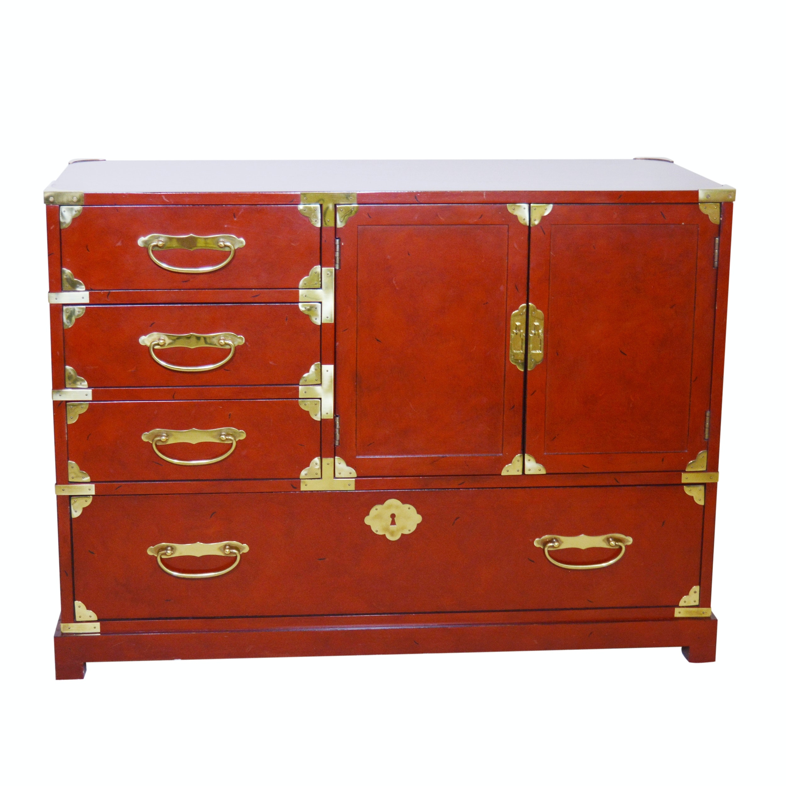 Asian Inspired Tansu Style Chest by Century Furniture