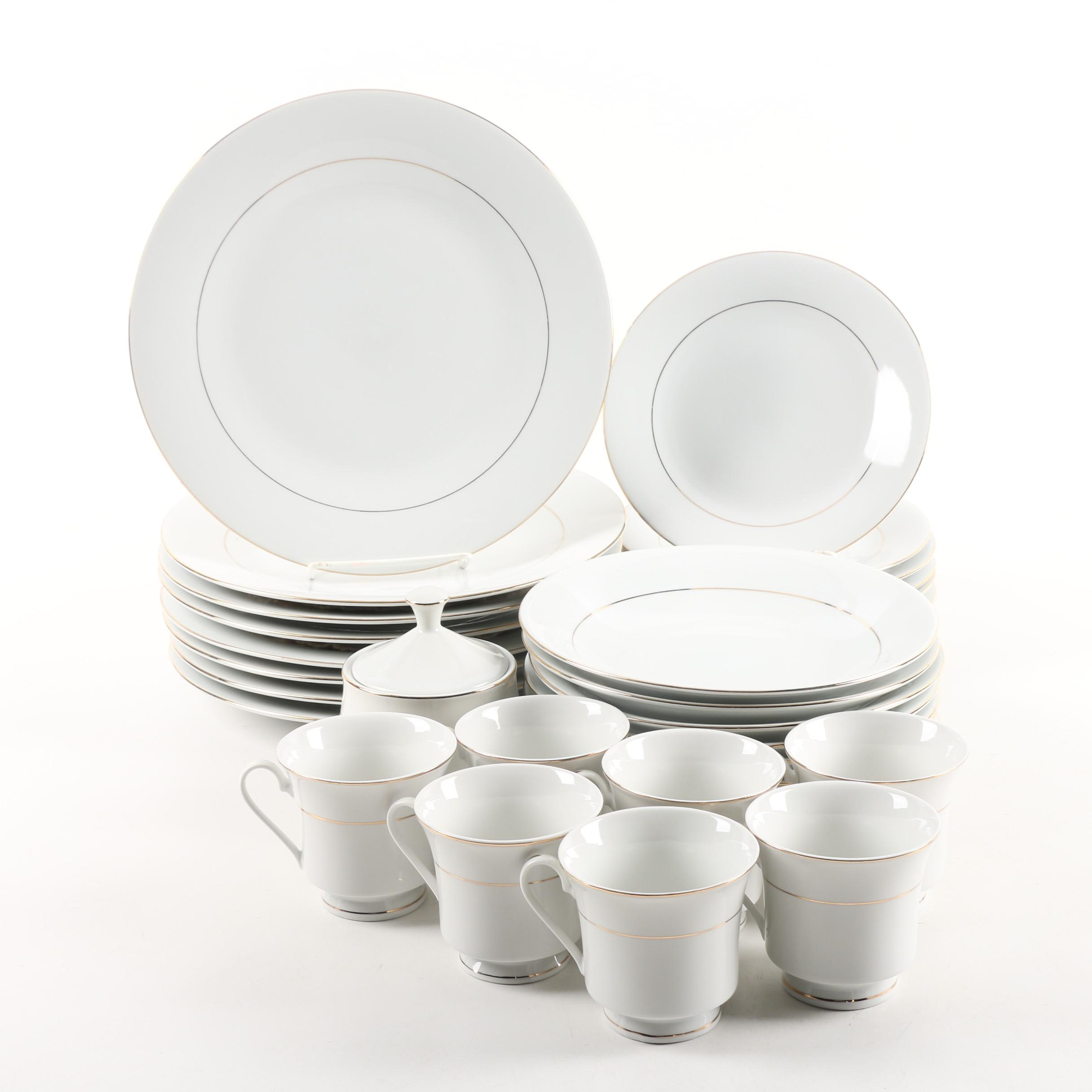 The Cellar  Classic Elegance  Porcelain Dinnerware ...  sc 1 st  EBTH.com & The Cellar