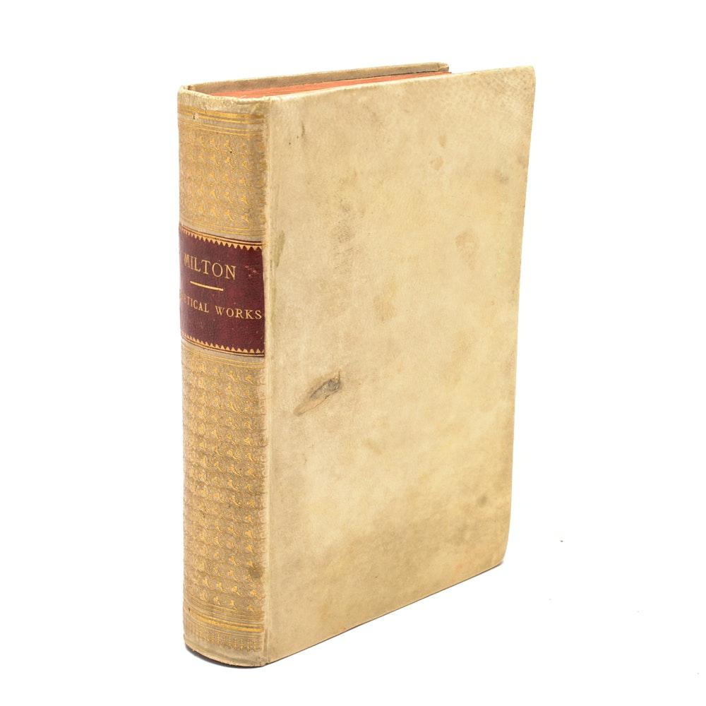 "1853 ""Poetical Works of Milton"""