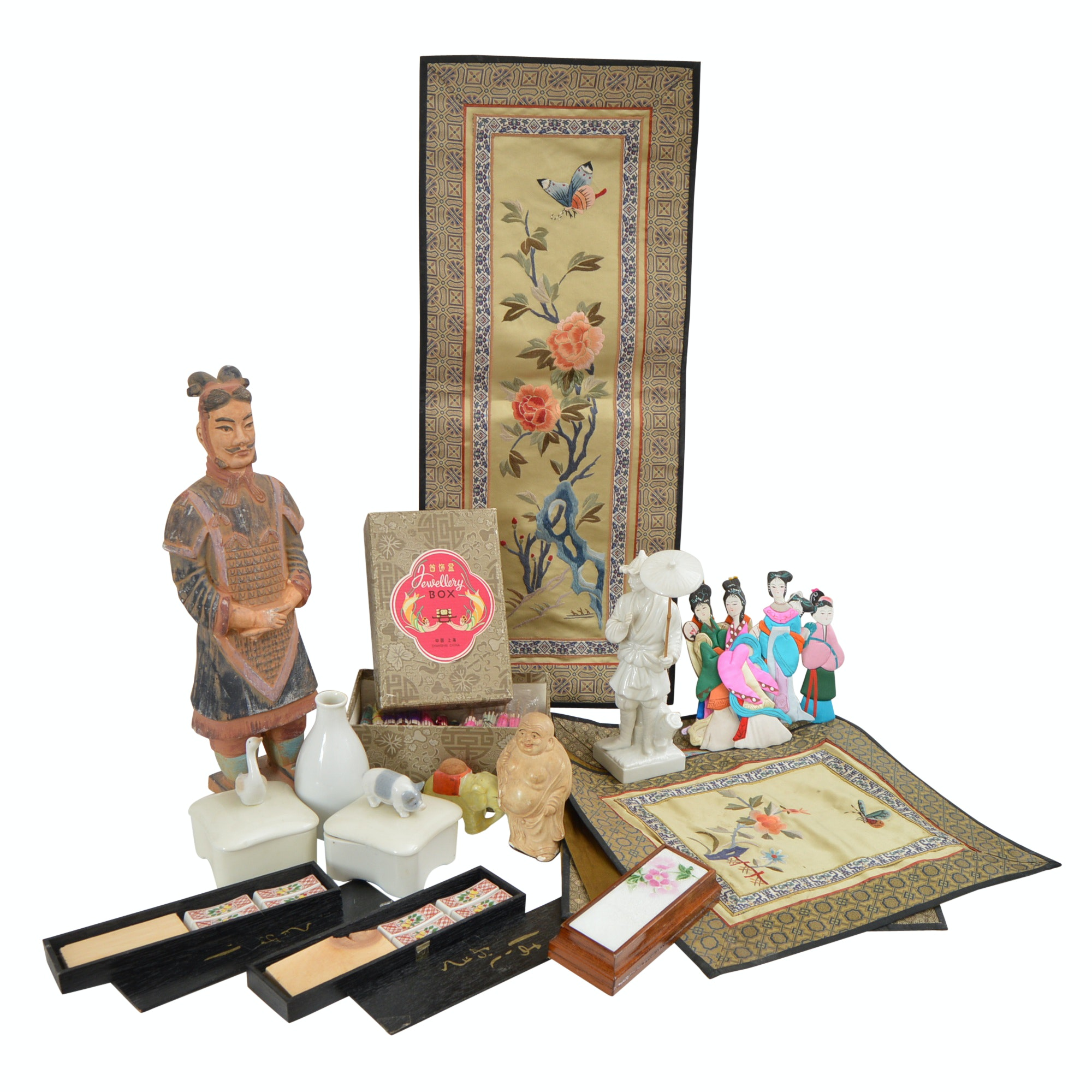 Vintage Asian Textiles and Collectibles