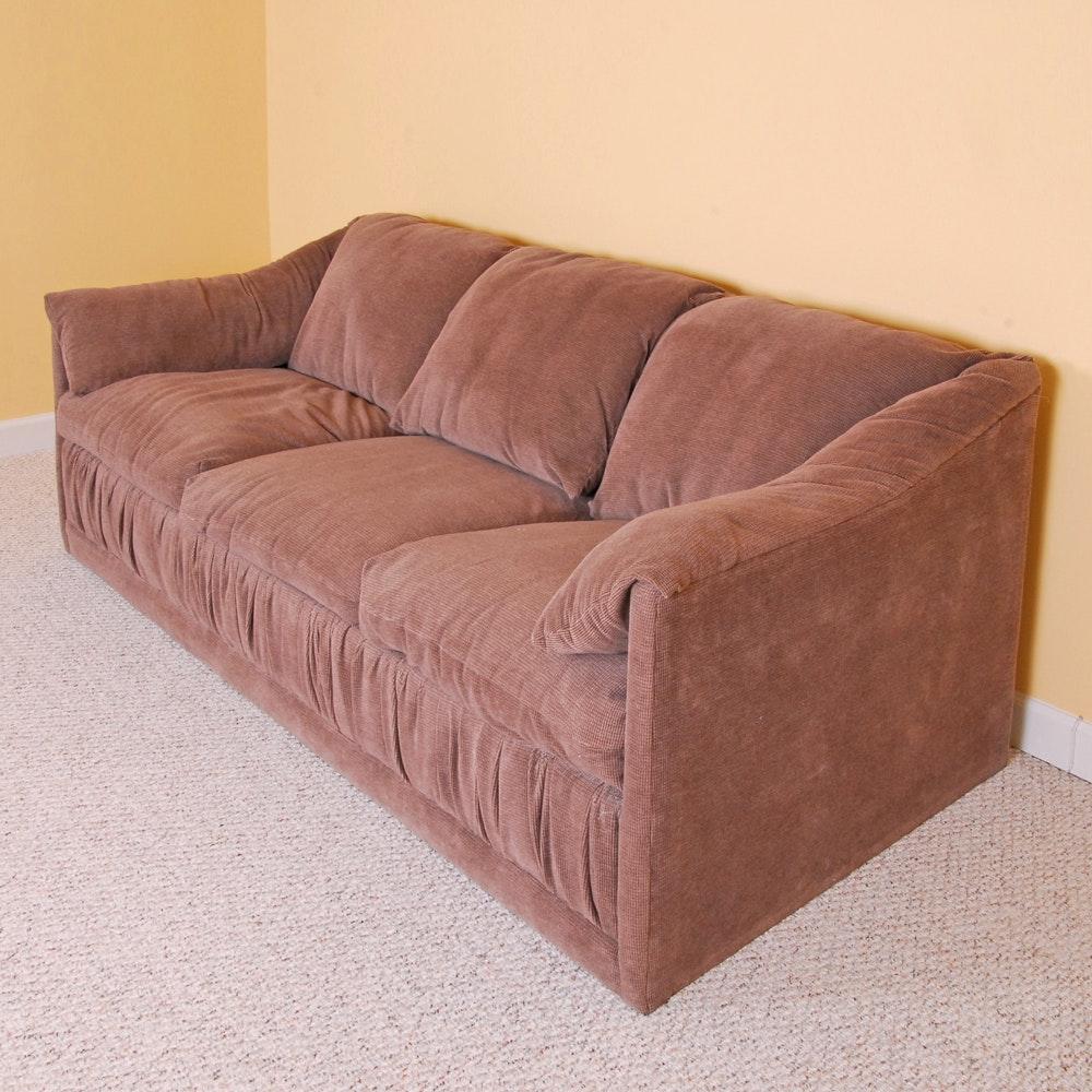 Vintage Upholstered Sleeper Sofa by Rowe