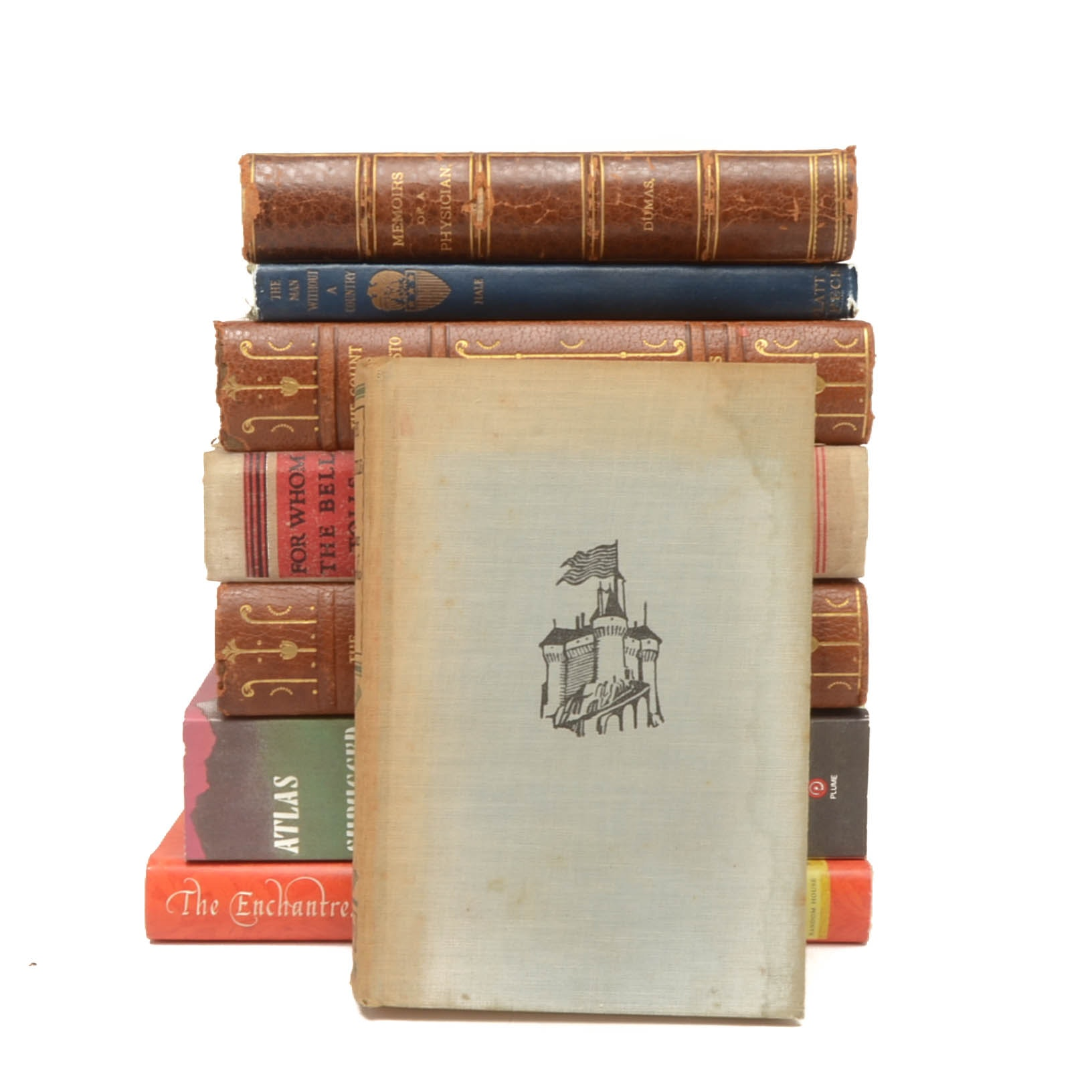 Group of Classic Fiction Books