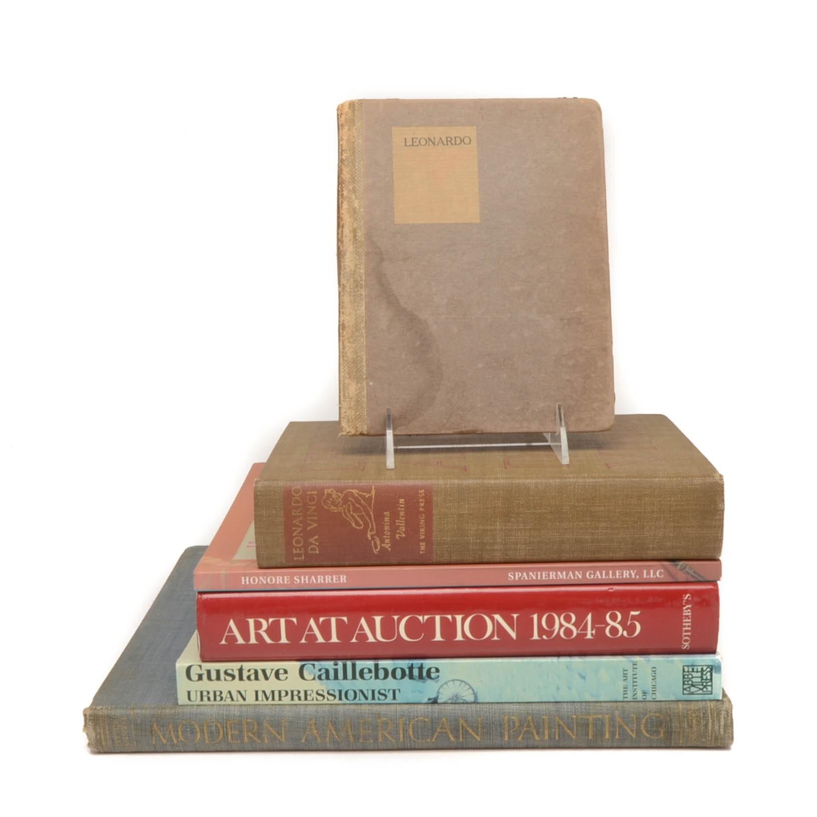 Group of Vintage Illustrated Art Books