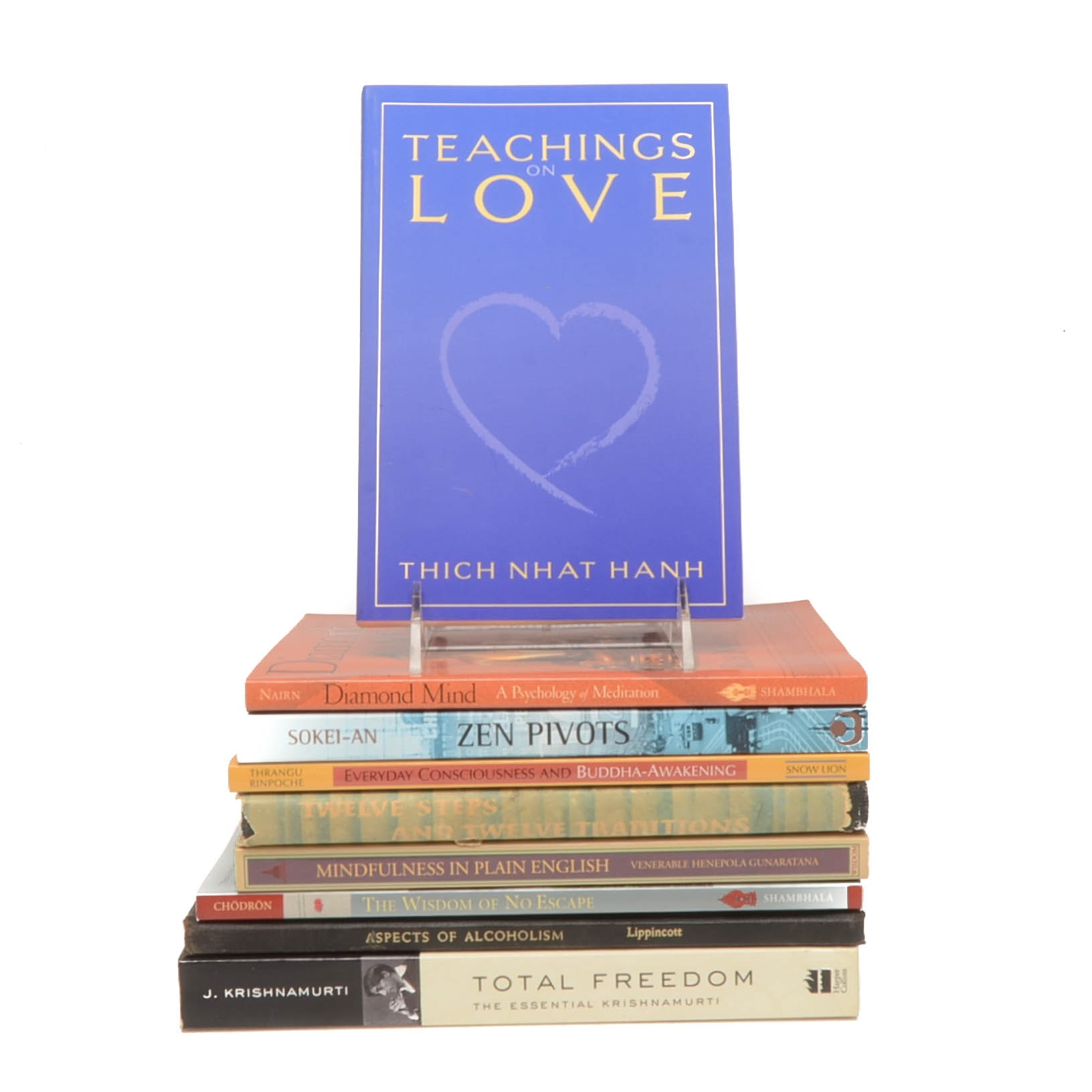 Group of Spirituality and Self-Help Books