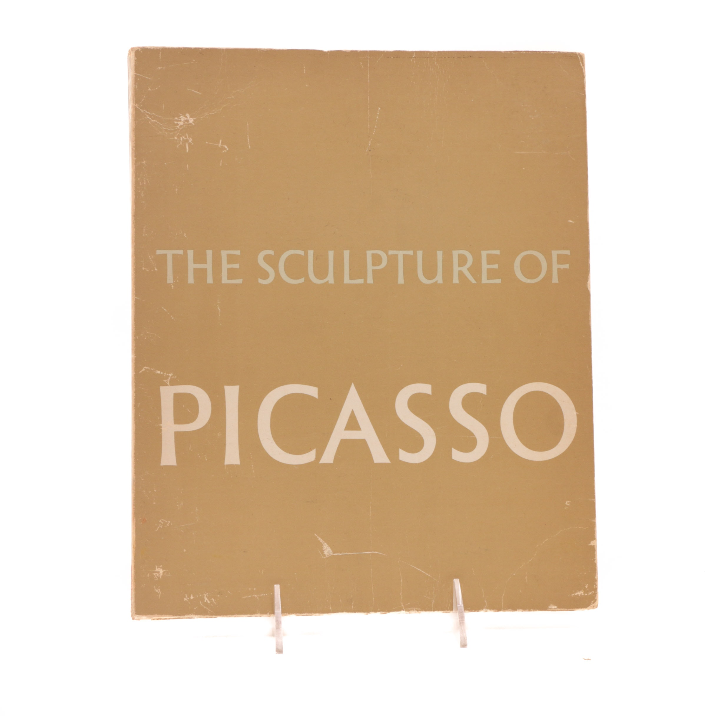 "1967 Wrapped Paperback ""The Sculpture of Picasso"" by Alicia Legg"