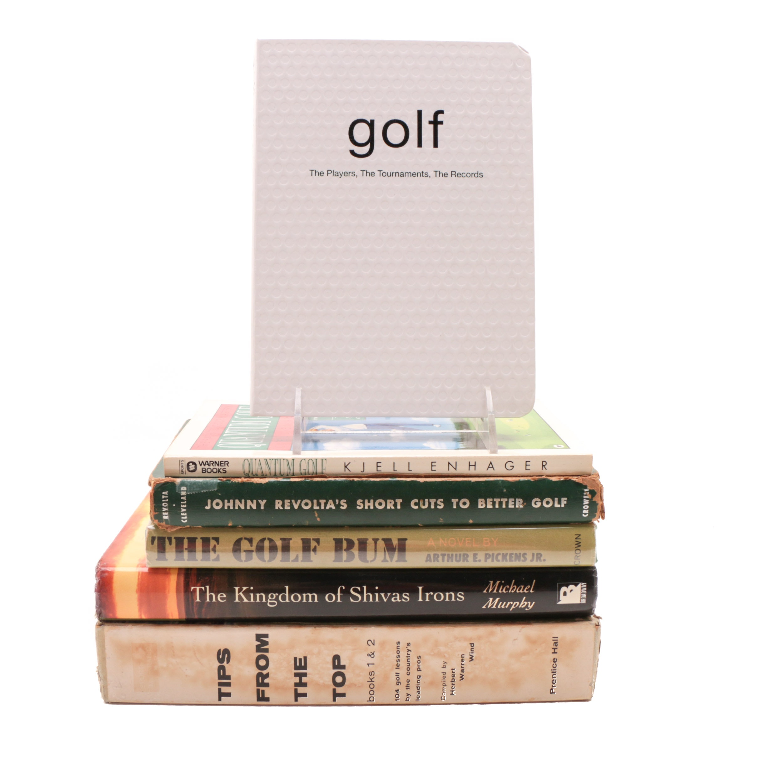 Group of Vintage and Contemporary Golf Books