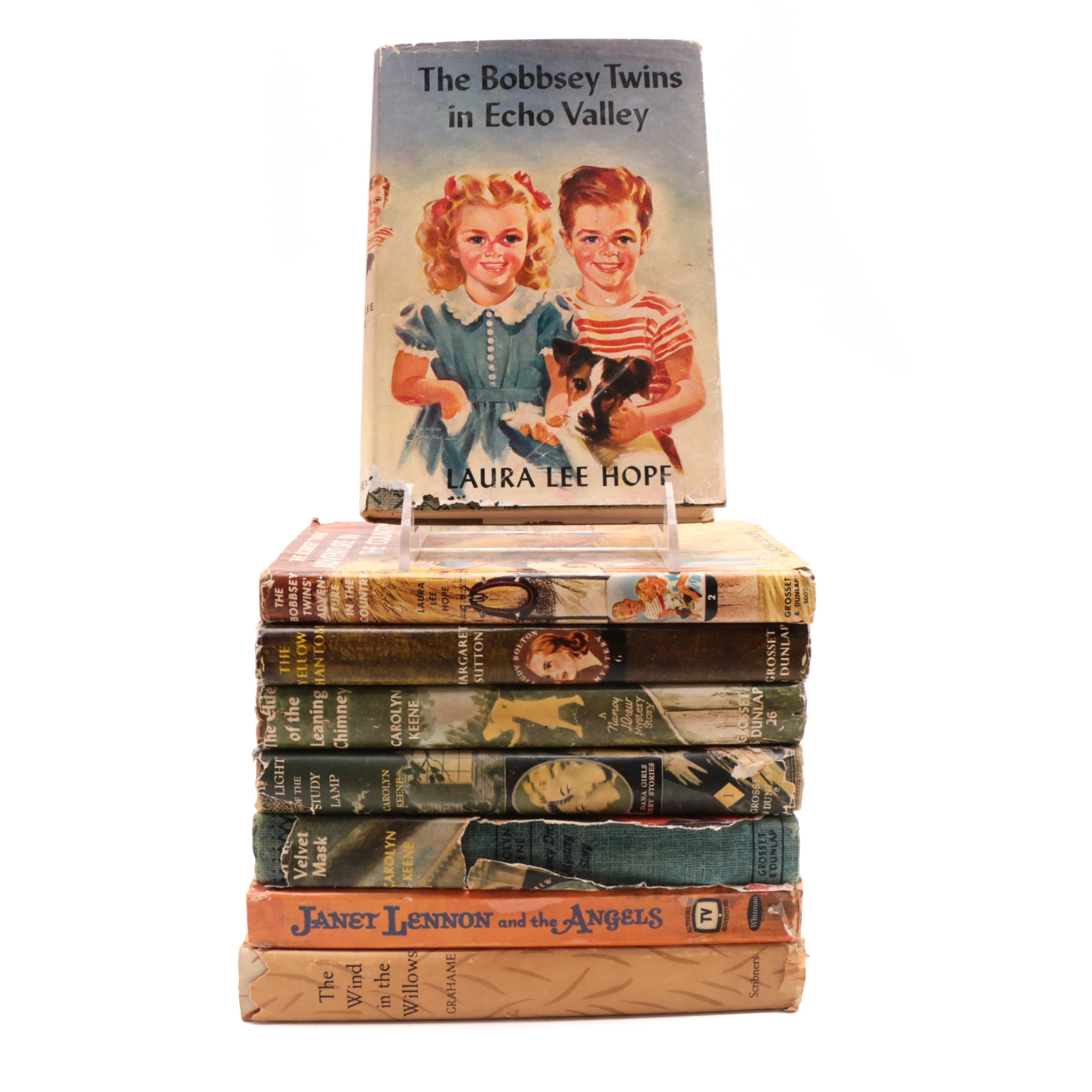 """""""Nancy Drew"""" and Other Vintage Young Adult Hardcovers"""