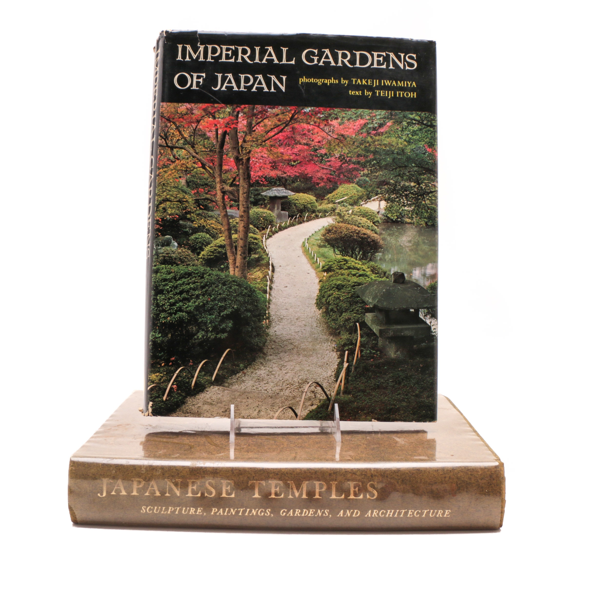 """""""Japanese Temples"""" and """"Imperial Gardens"""" Coffee Table Books"""