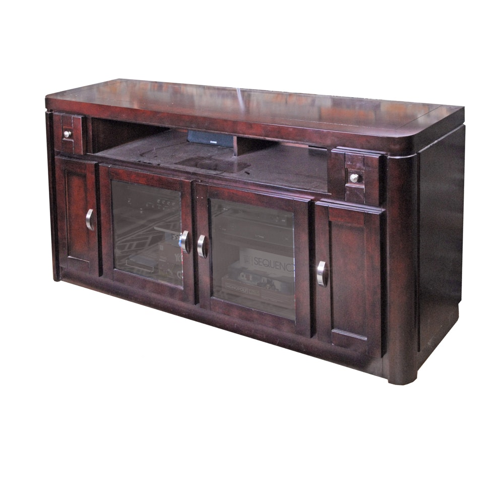 Contemporary Entertainment Console by Parker House