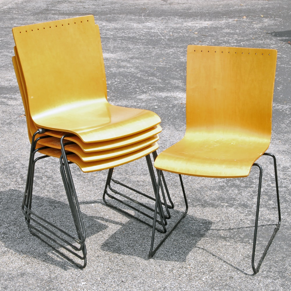 Contemporary Side Chairs by Leland International