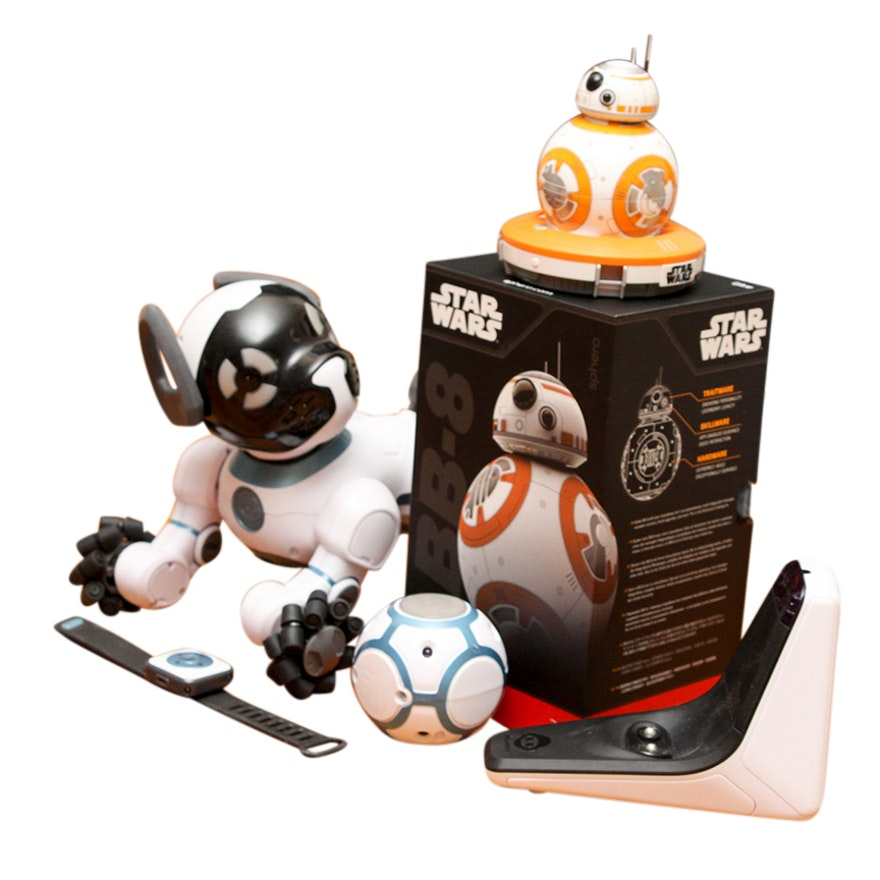 Bb 8 Star Wars App Enabled Droid And Wowee Chip Robot Dog Ebth