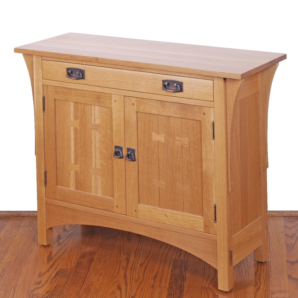 Stickley Butterfly Front Cabinet