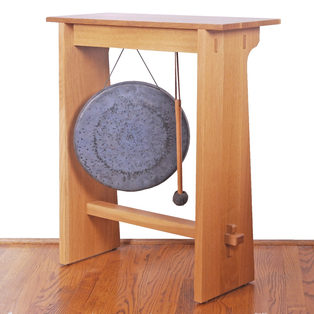 Stickley Gong Stand and Wuhan Made Gong