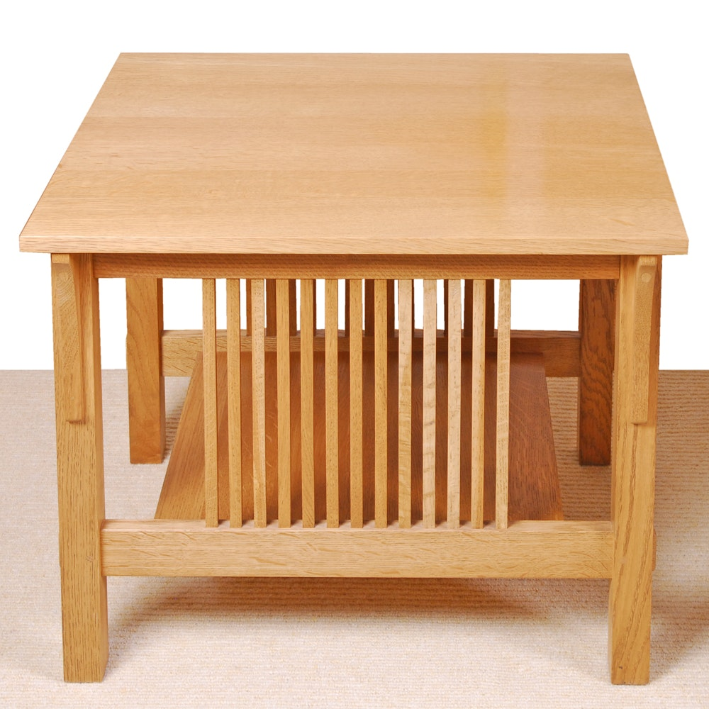 """Stickley """"Mission"""" End Table"""