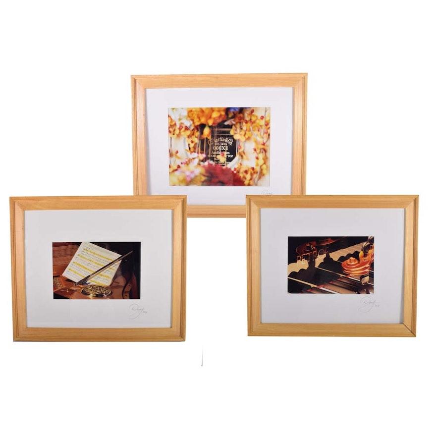 Set of Three Framed Photographs : EBTH
