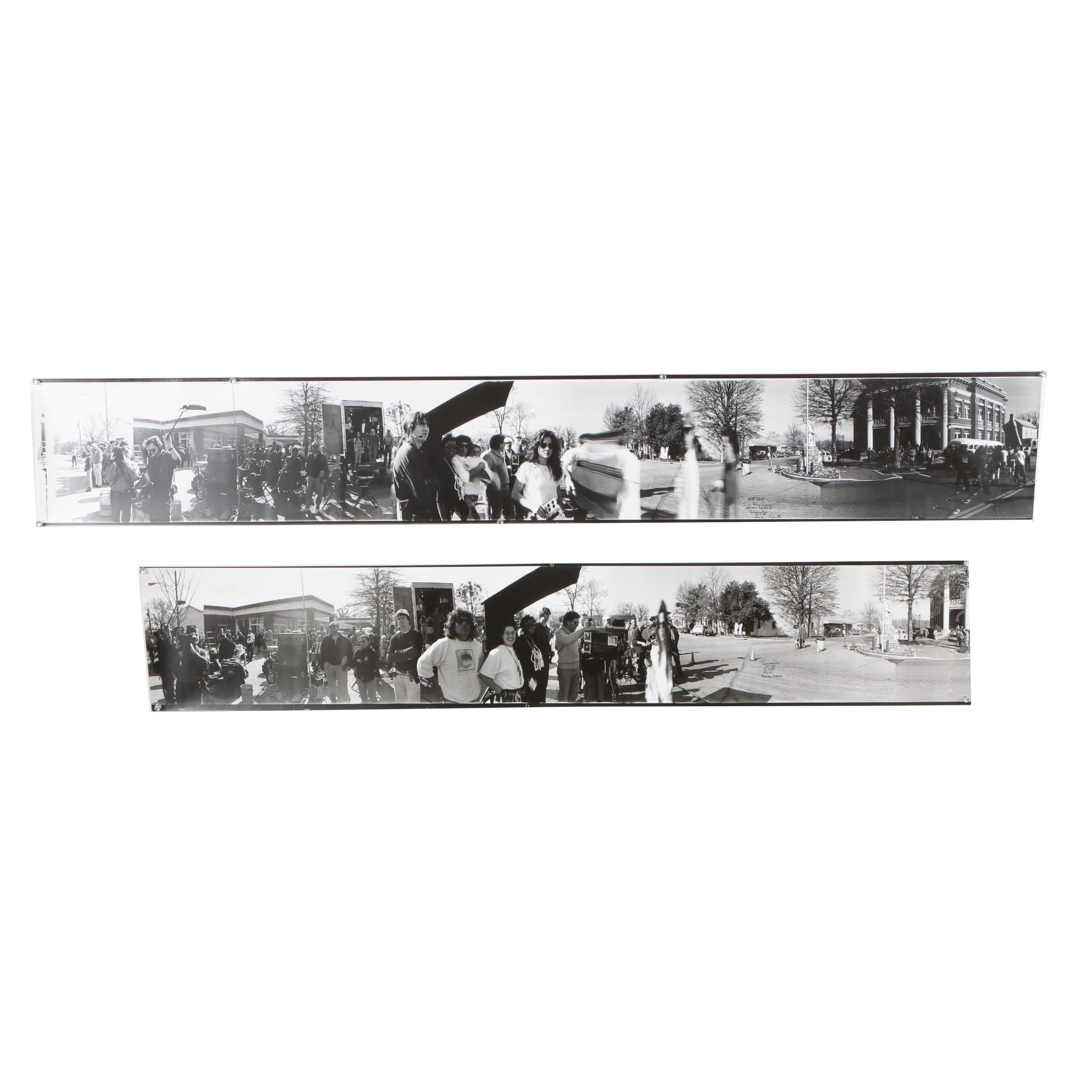 """Panorama Ray 1993 Gelatin-Silver Panoramic Photographs from """"I'll Fly Away"""""""