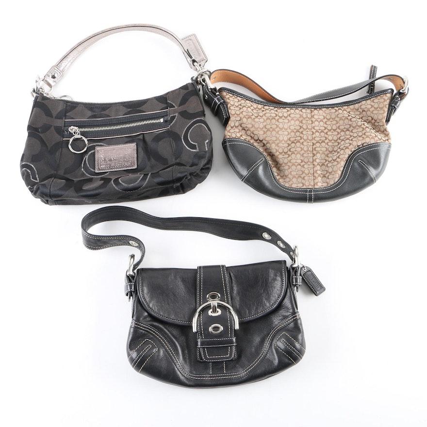 758eb75d607c4 Coach Soho and Poppy Op Art Small Hobo Bags : EBTH