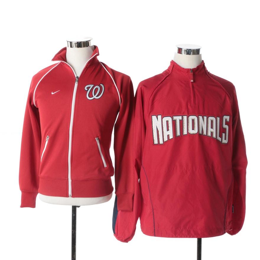 Men S Washington Nationals Jacket And Pullover Ebth