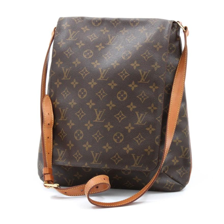 1ec60cc9d566 Louis Vuitton of Paris Musette Salsa Monogram Canvas and Leather Crossbody  Bag   EBTH