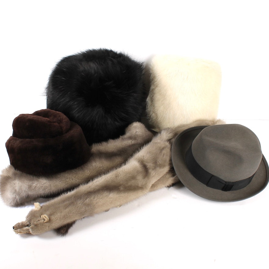 52117bcdb9f7f Men s and Women s Hats and Accessories Featuring Stetson and Fur   EBTH