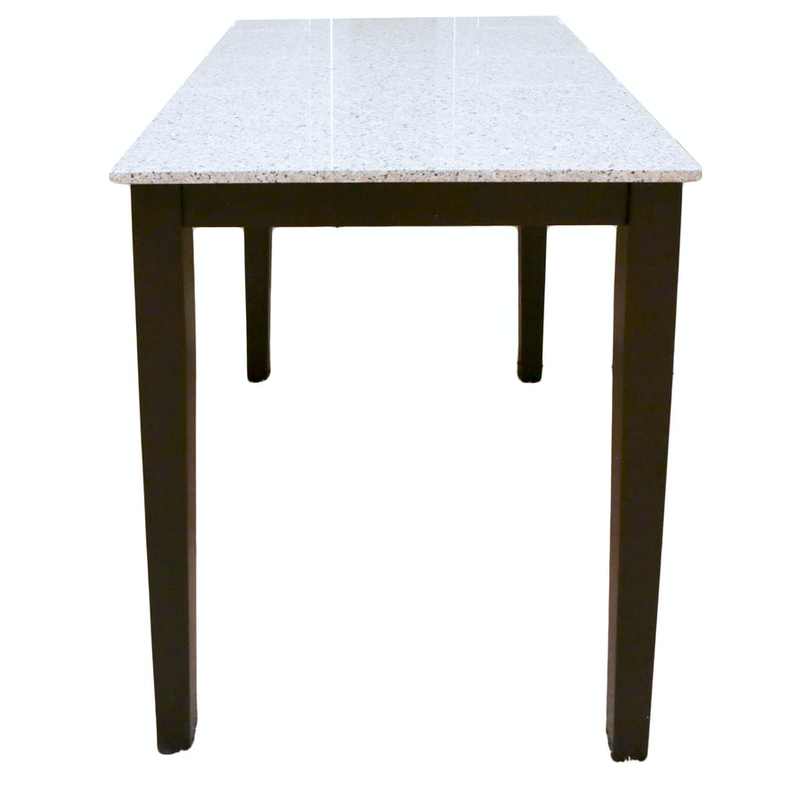 Stone Top Counter Height Table EBTH - Stone top counter height table