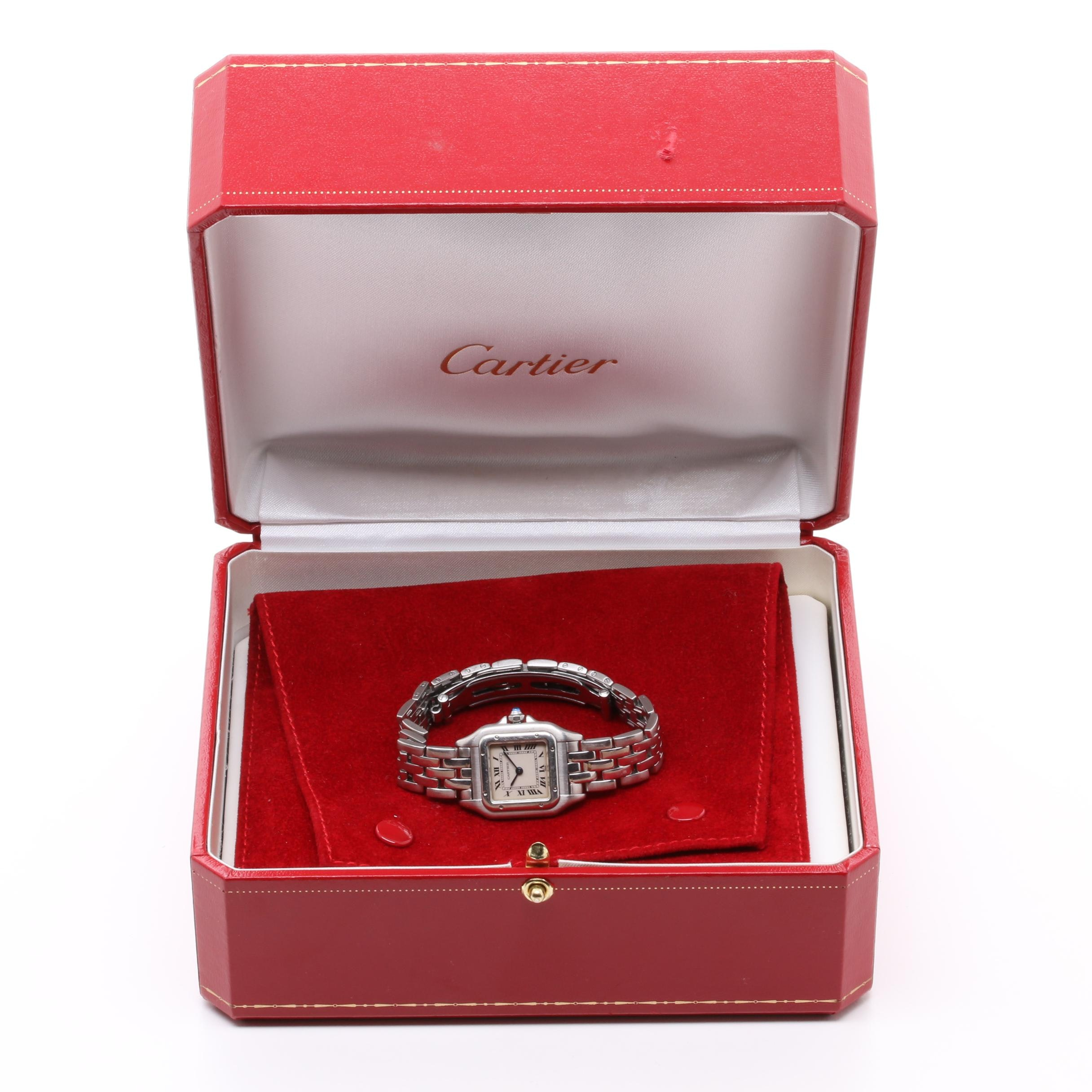 Cartier Panthère 1320 Stainless Steel Wristwatch