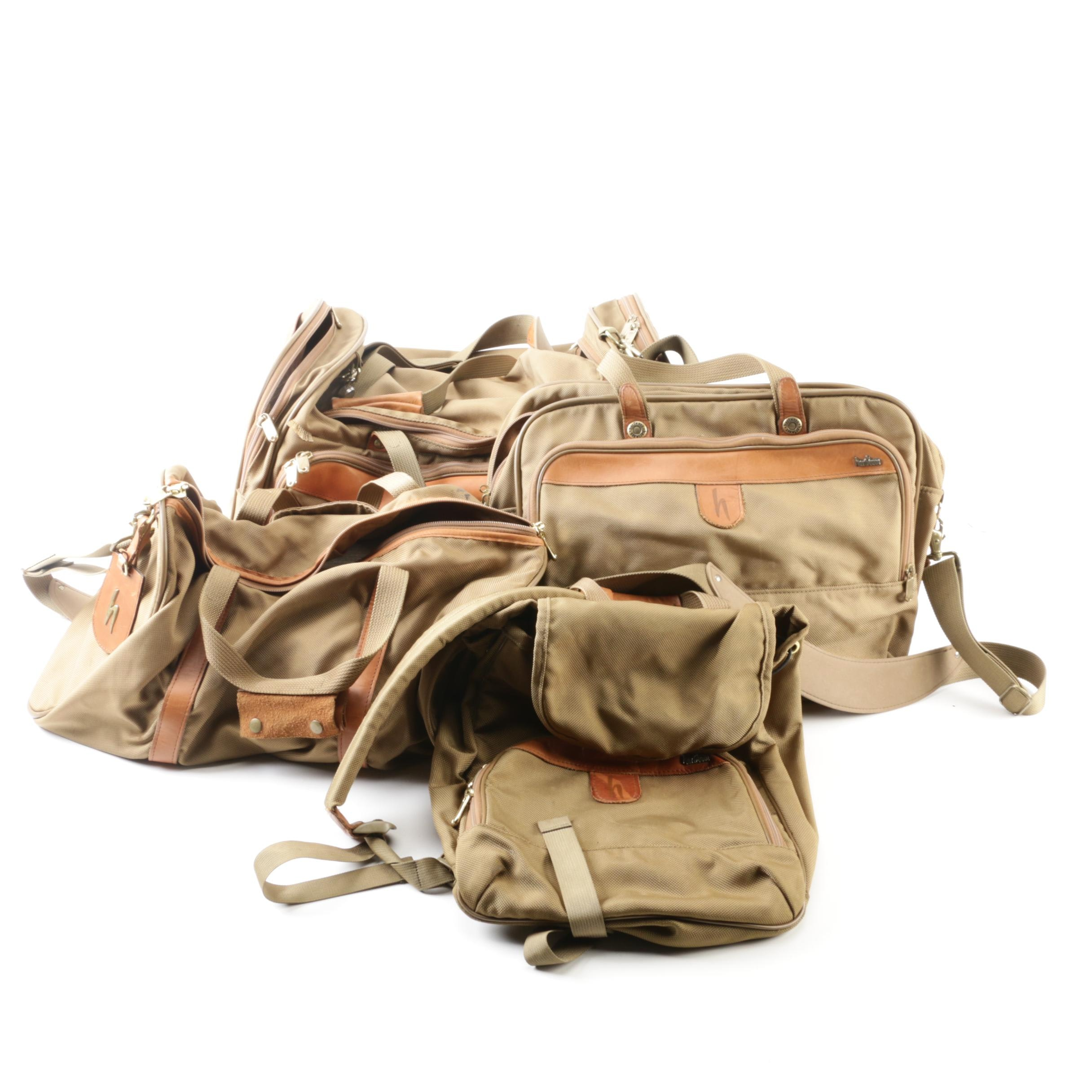 Hartmann Nylon and Leather Duffel and Travel Bags