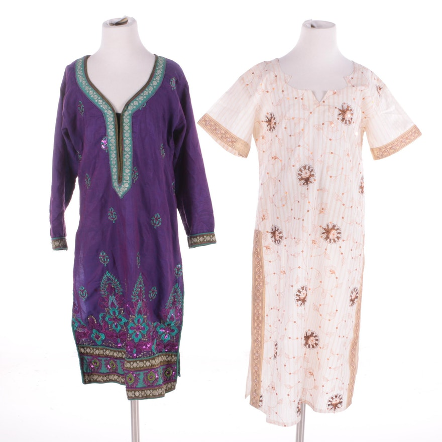 6696d92e8a7 Girls' South Asian Tunic Dresses with Embroidery   EBTH