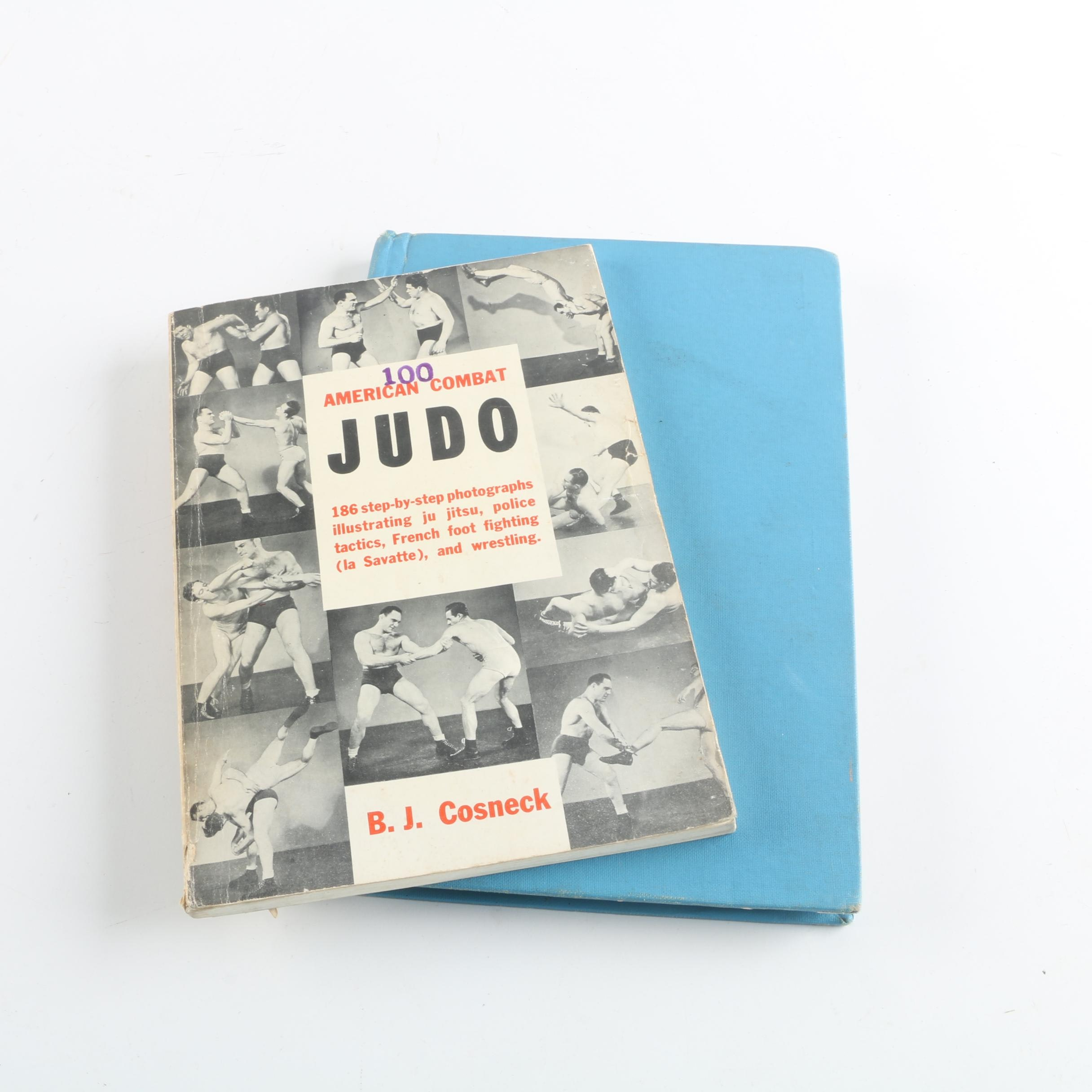"""1959 """"American Combat Judo"""" and 1940 """"Boxing"""" by Edwin L. Haislet"""