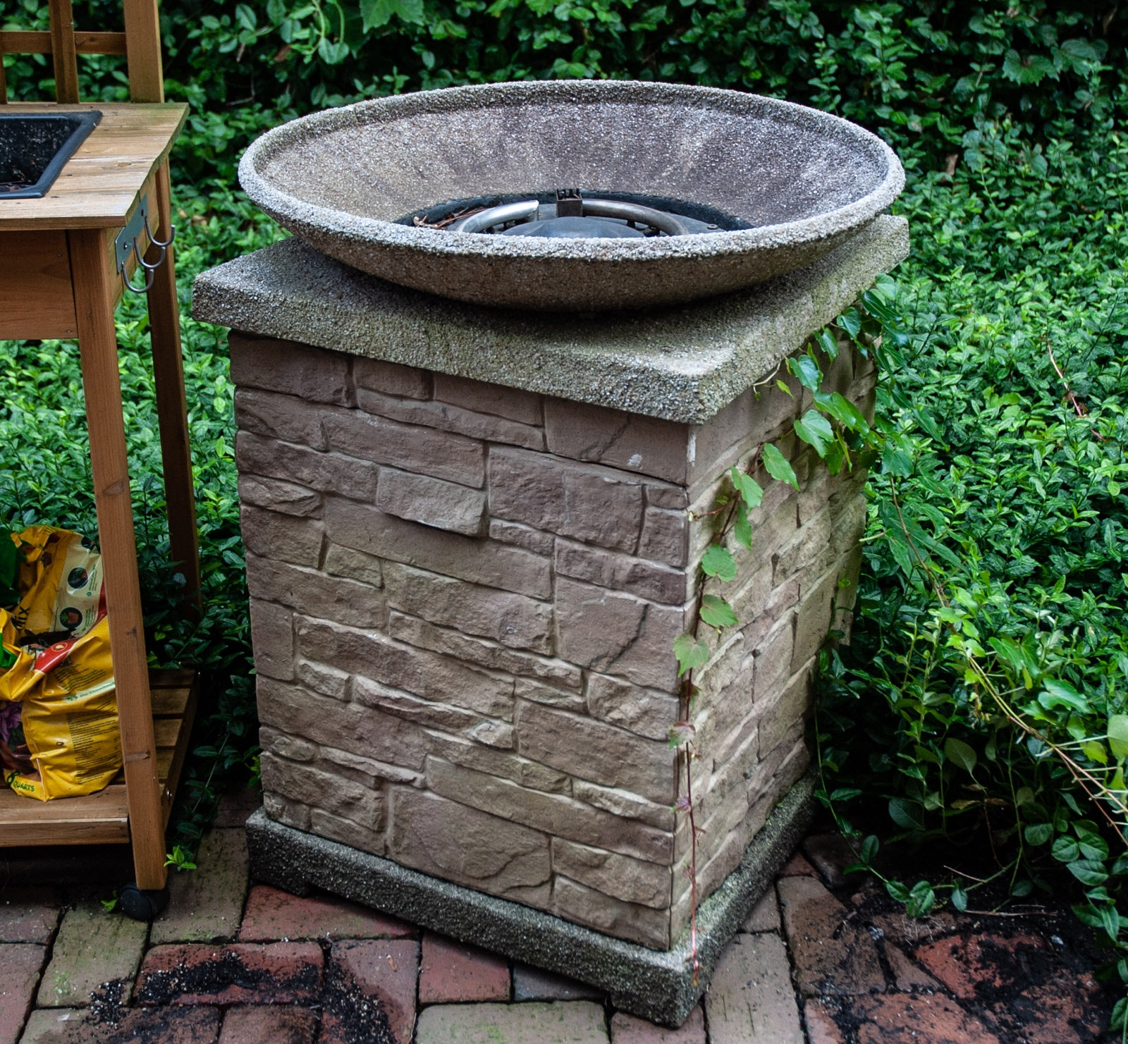 Outdoor Cement Fire Bowl