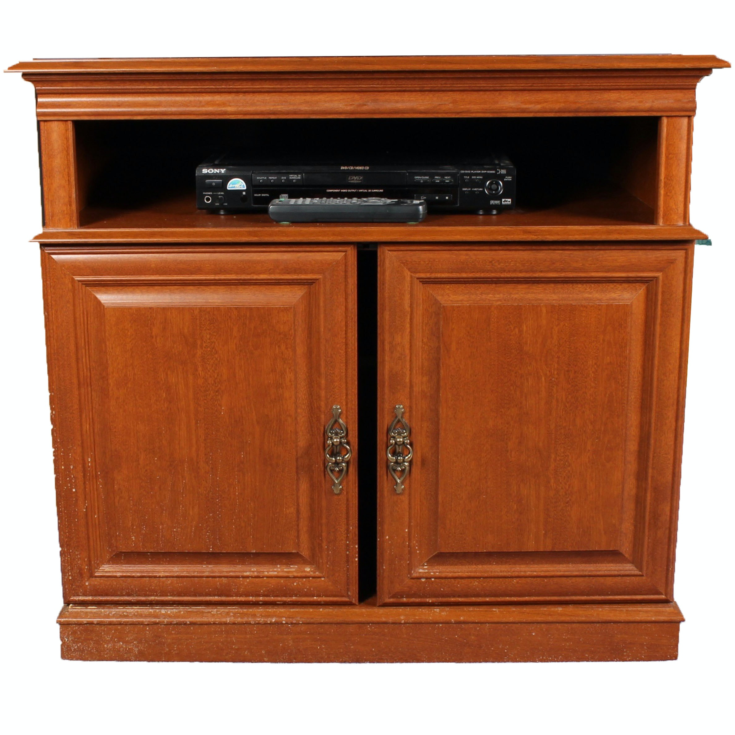 Wooden Entertainment Cabinet ...