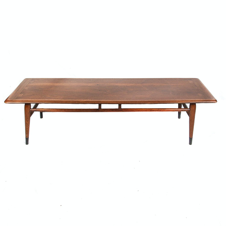 "Lane Mid Century Modern Walnut ""Acclaim"" Coffee Table"