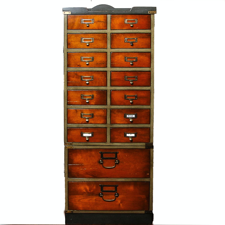 Vintage Stacking File Cabinet