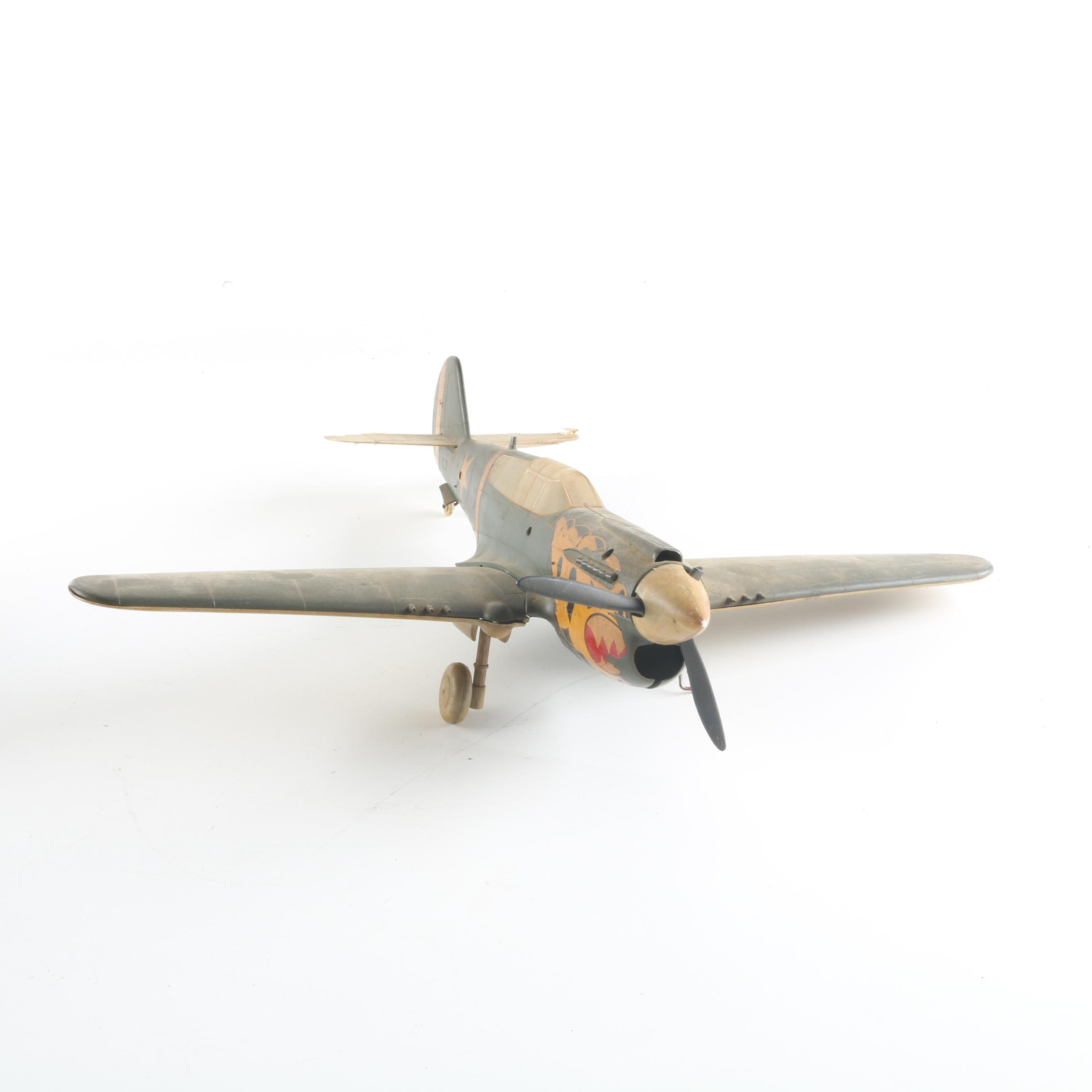 Plastic Model Army Airplane