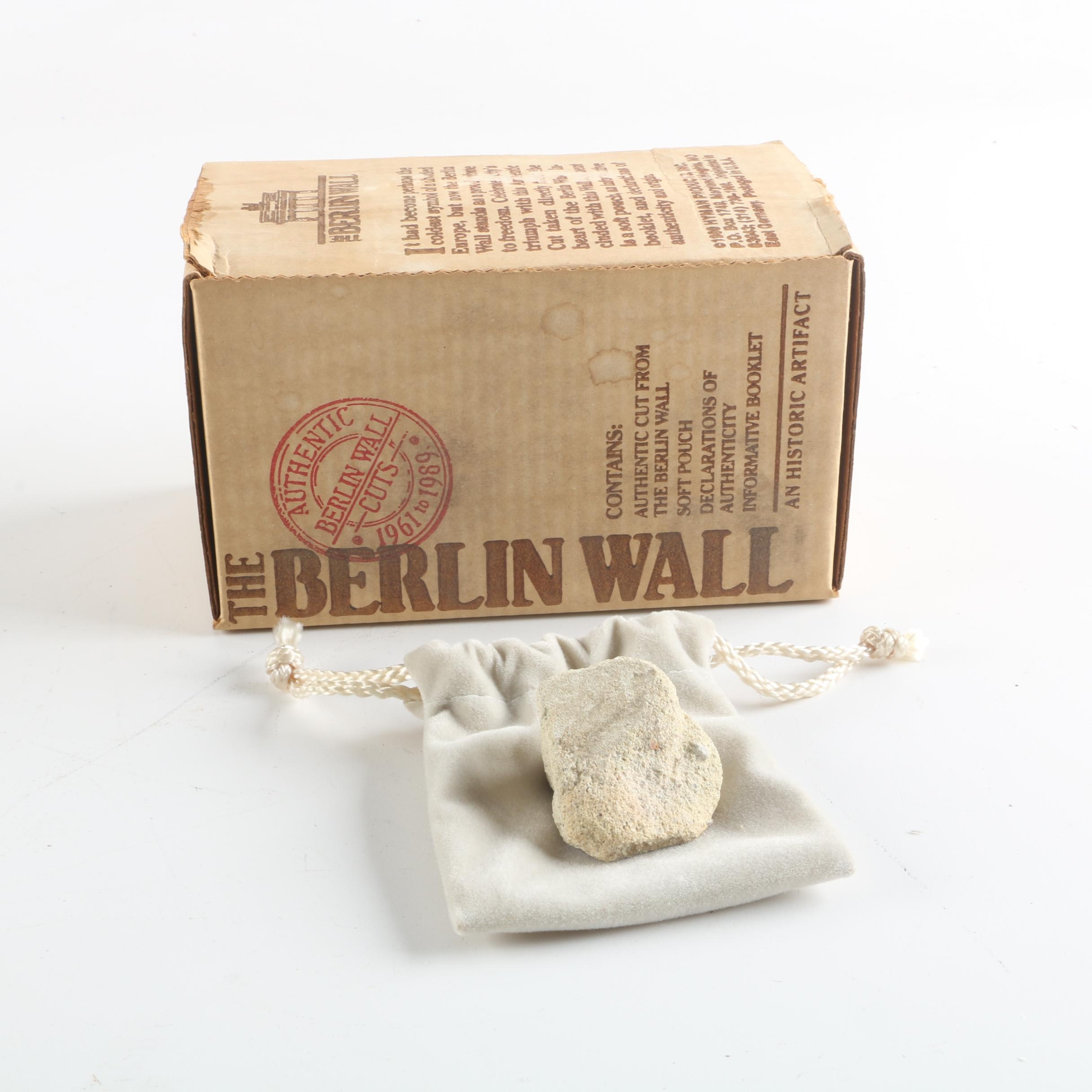 Cut Concrete From The Berlin Wall