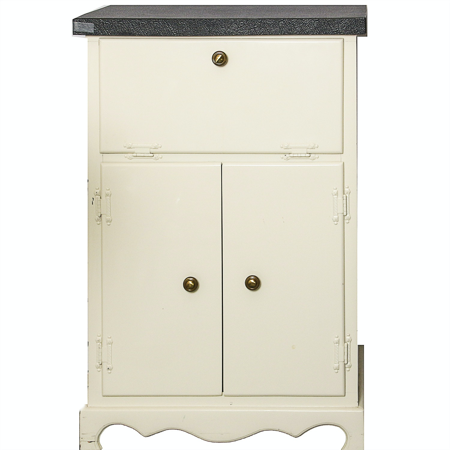 White Painted Side Cabinet