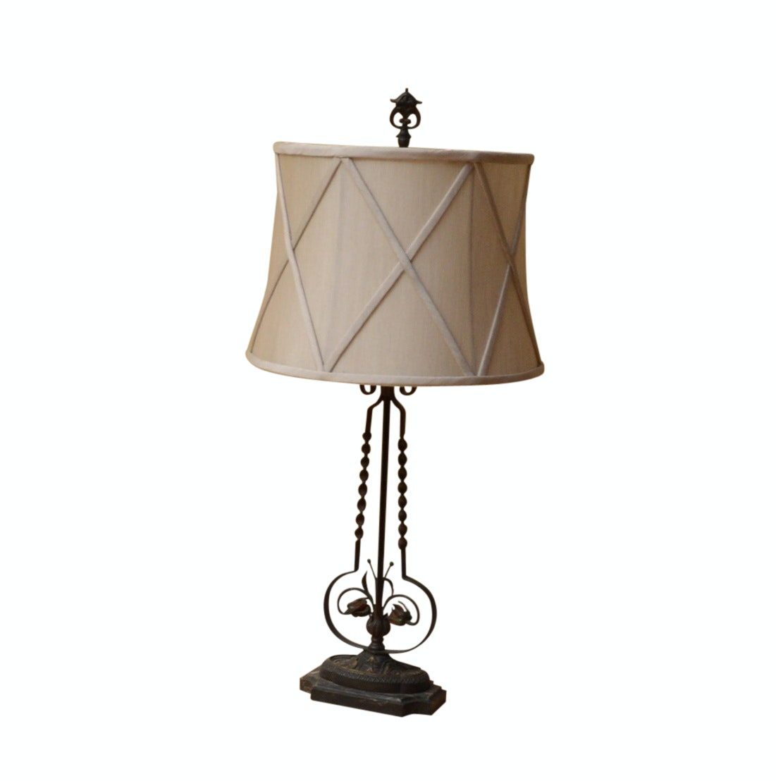 Antique Cast Iron Table Lamp ...