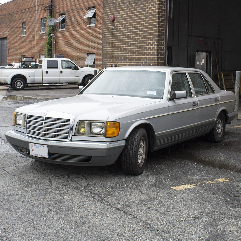 1984 Mercedes-Benz 300SD Turbo Diesel Sedan
