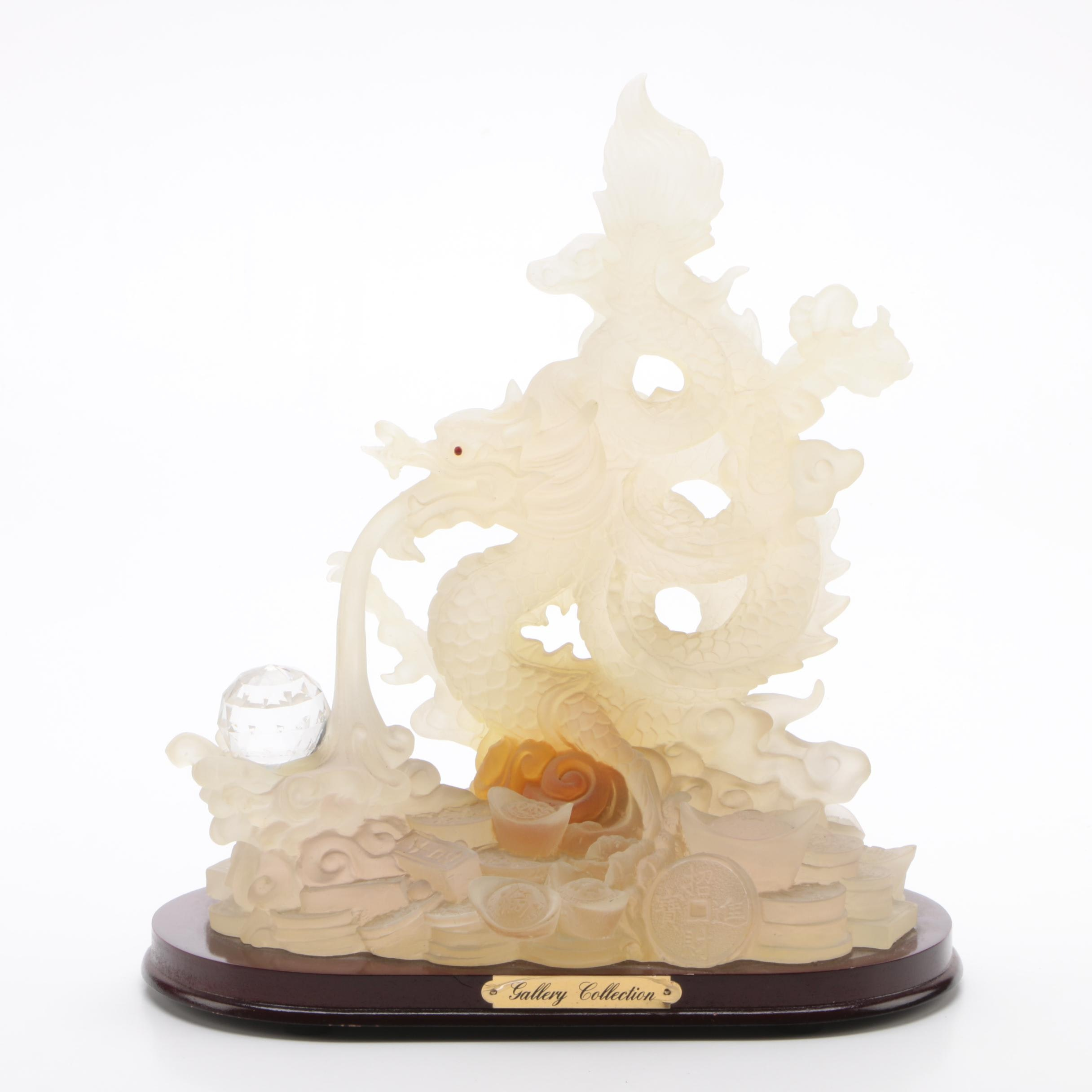 Gallery Collection Chinese Resin Dragon Sculpture