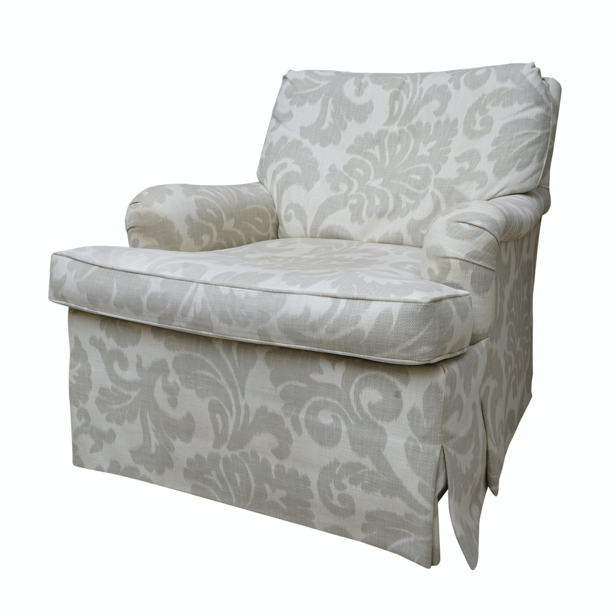 Bon Upholstered Swivel Armchair By Hickory Chair Furniture Co ...