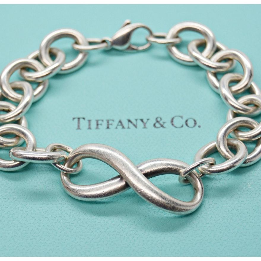 3bd98e2bf Tiffany & Co. Sterling Infinity Bracelet | EBTH