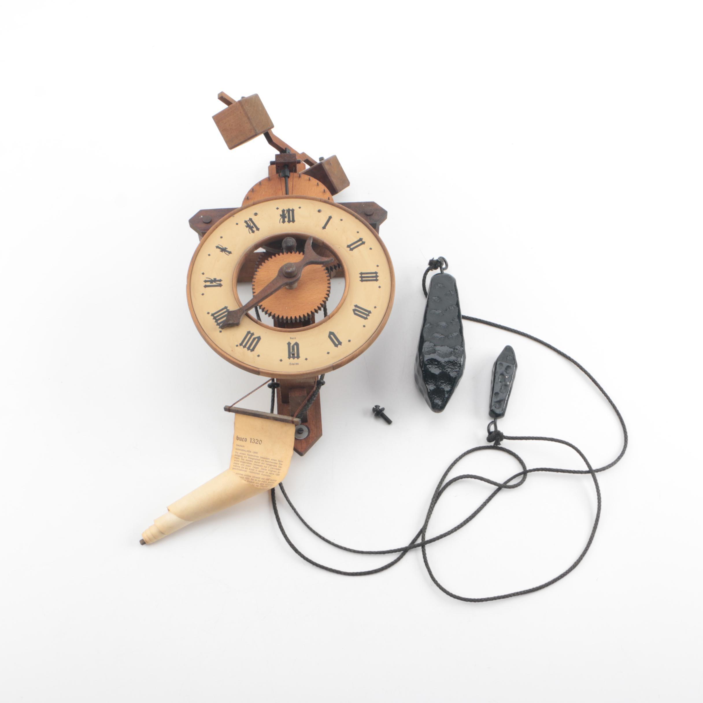Baumann Buco 1320 Swiss Wall Clock
