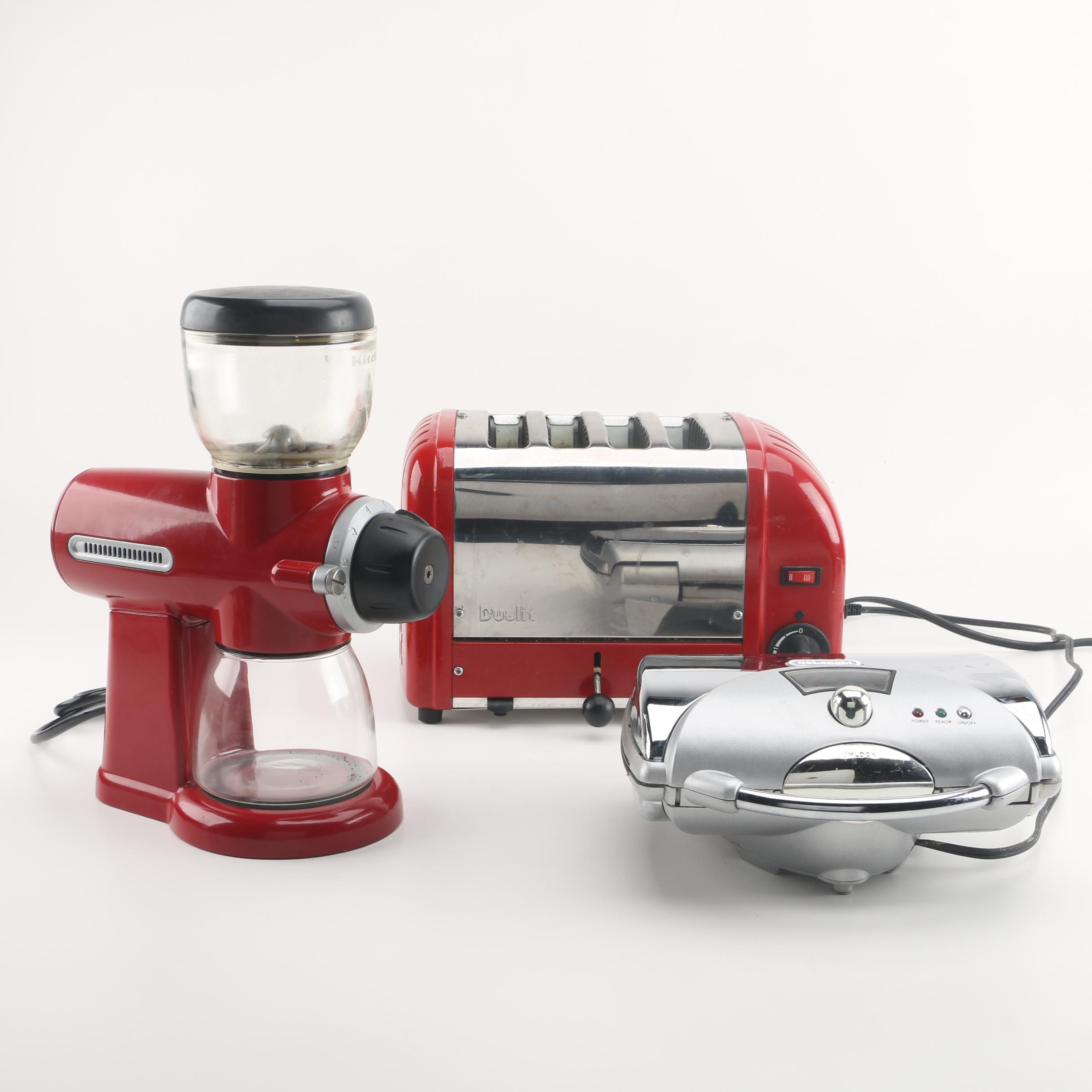 KitchenAid Pro Line Coffee Mill with Waffle Maker and Toaster
