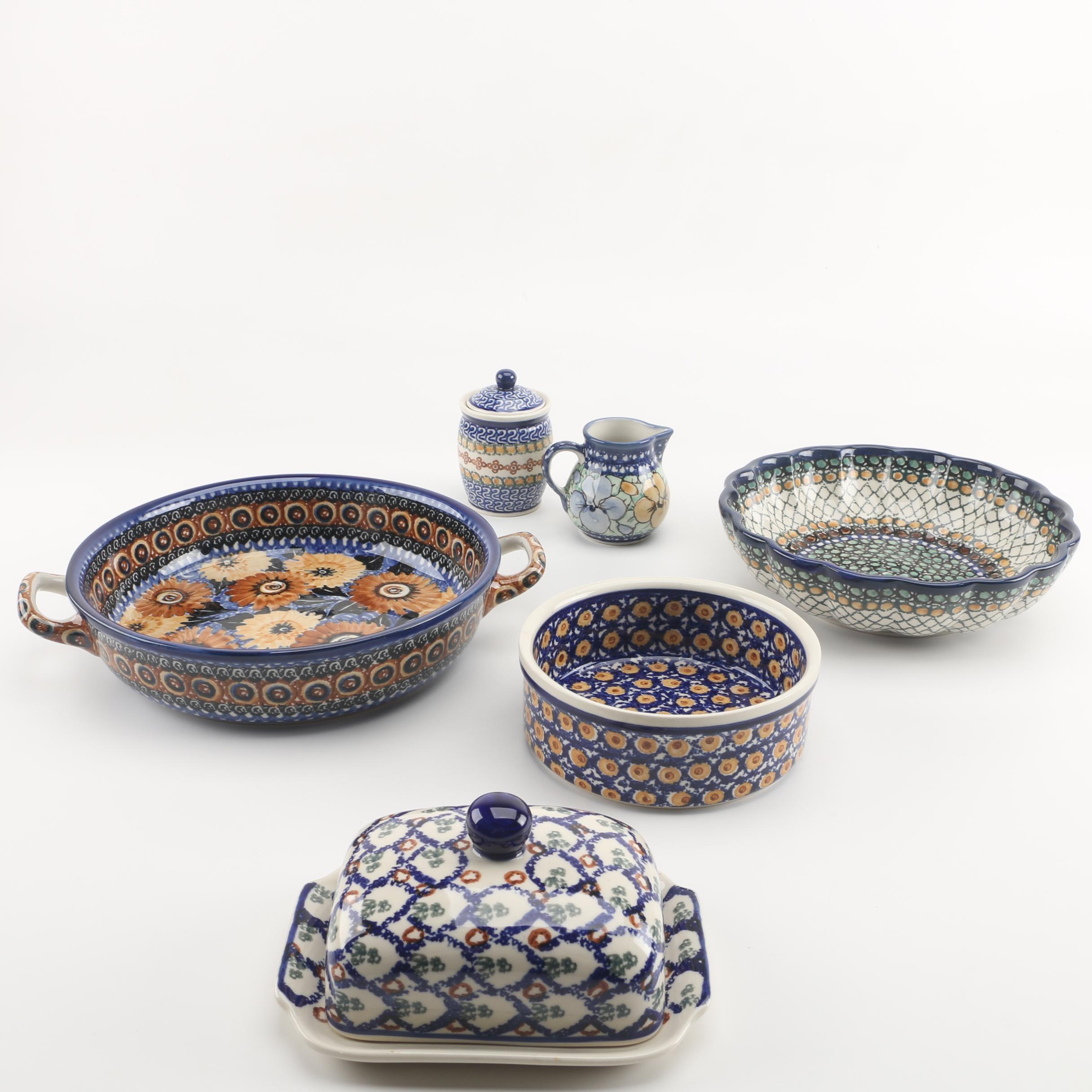 Boleslawiec Polish Pottery Serveware