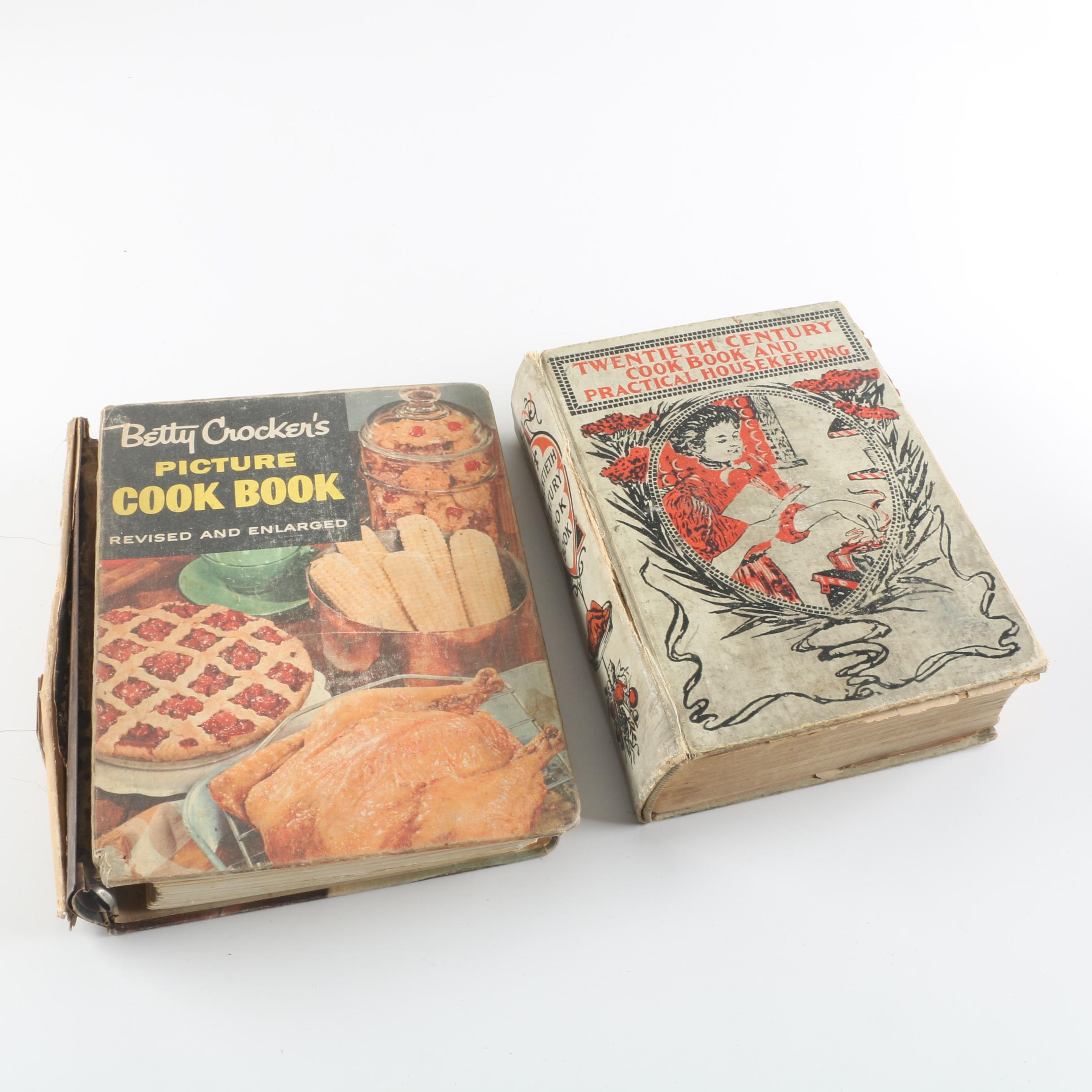 Early to Late 20th Century Cookbooks