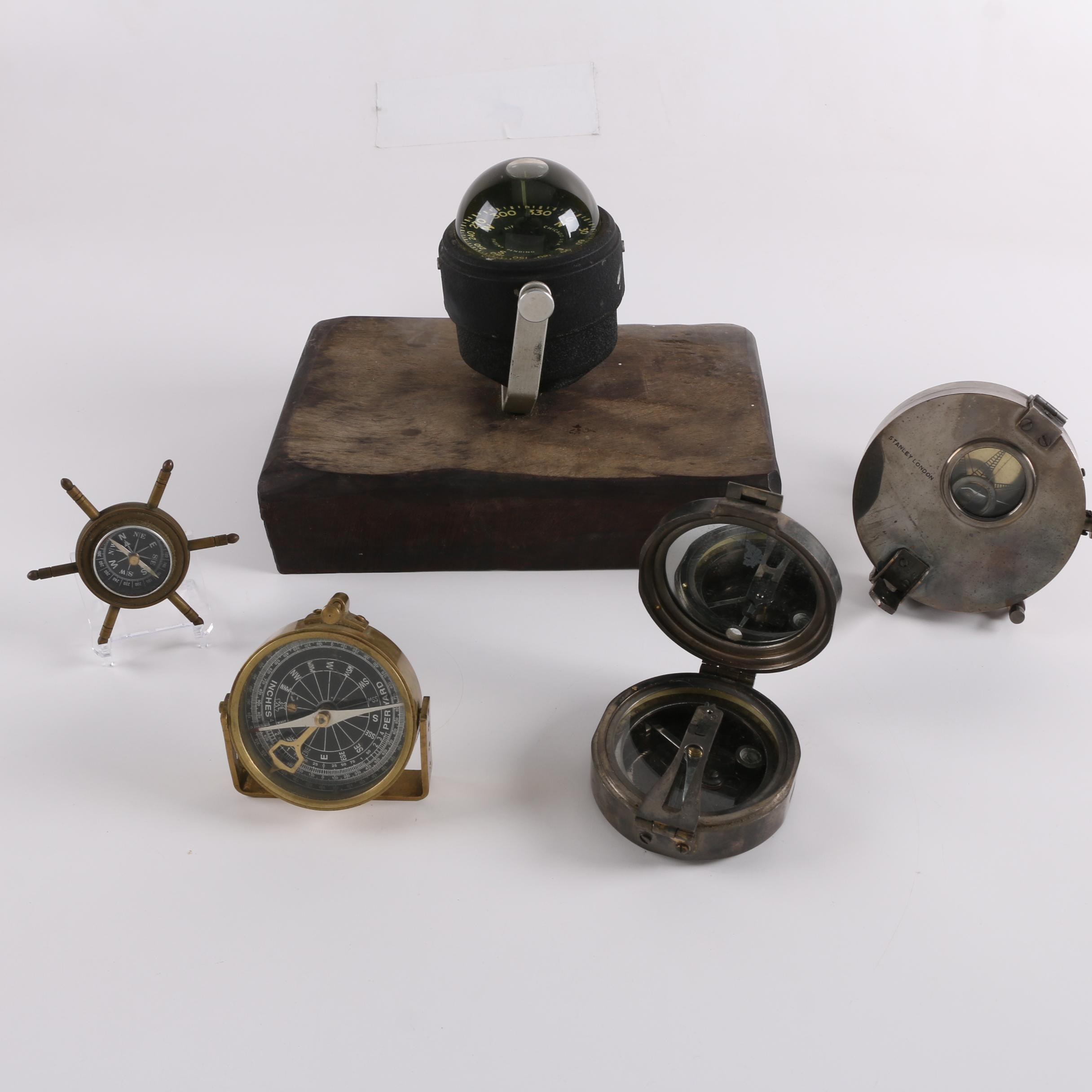Stanley London, Airguide and Other Maritime and Aeronautical Compasses