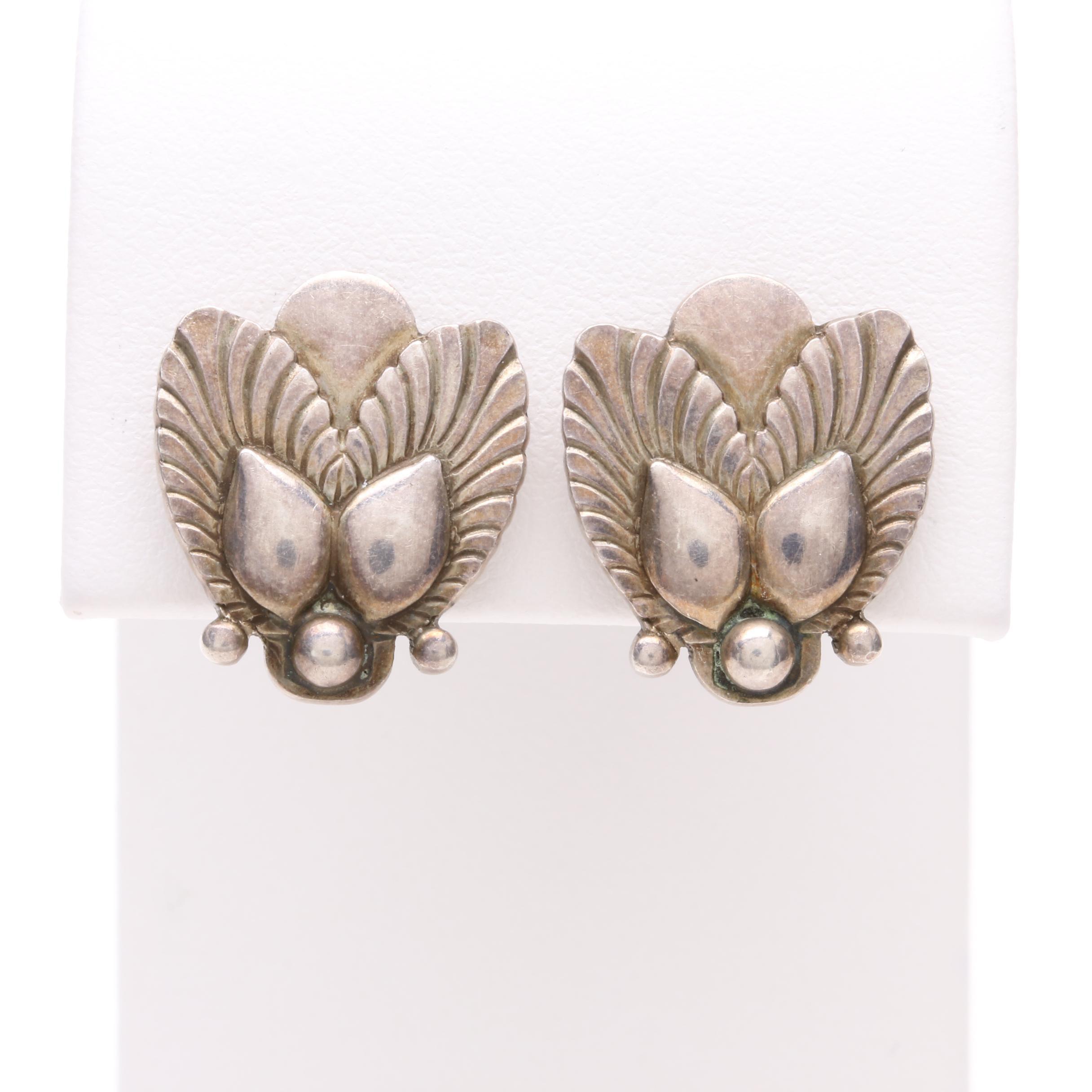 Georg Jensen Sterling Silver Earrings
