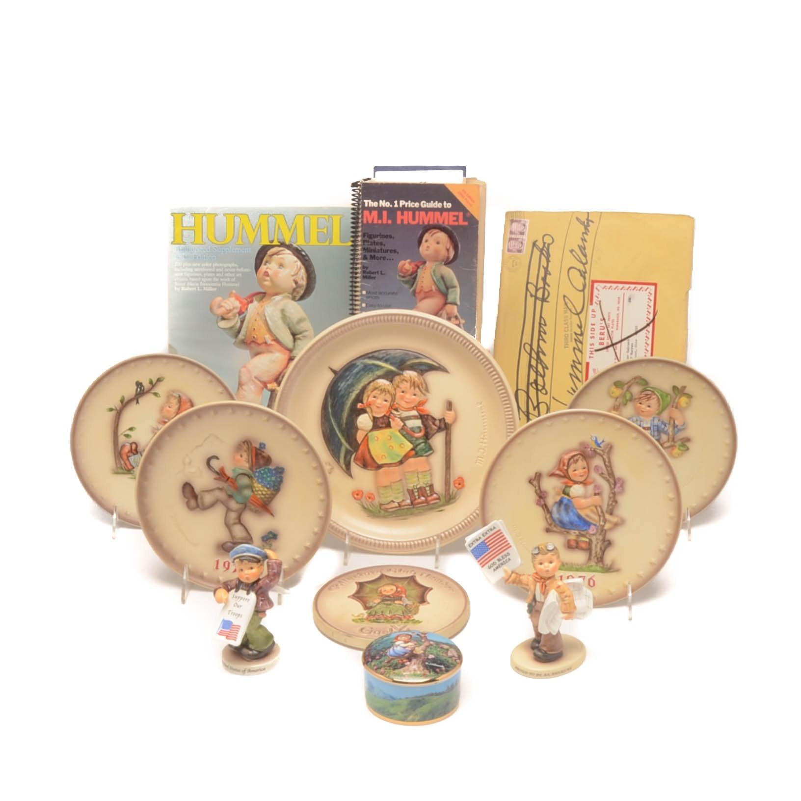 1970s M.J. Hummel Collectibles including Goebel Plates
