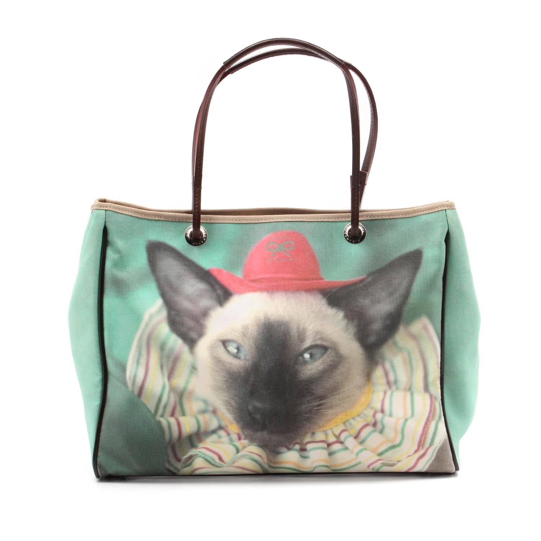 Anya Hindmarch Siamese Cat Tote Bag